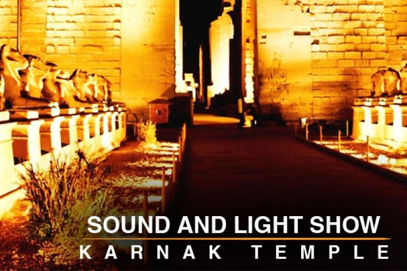 Sound and light show Karnek temple