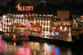 Nile River Dinner Cruise in Cairo