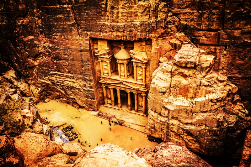 Day Tour to Petra and Tour Excursions from Aqaba Port