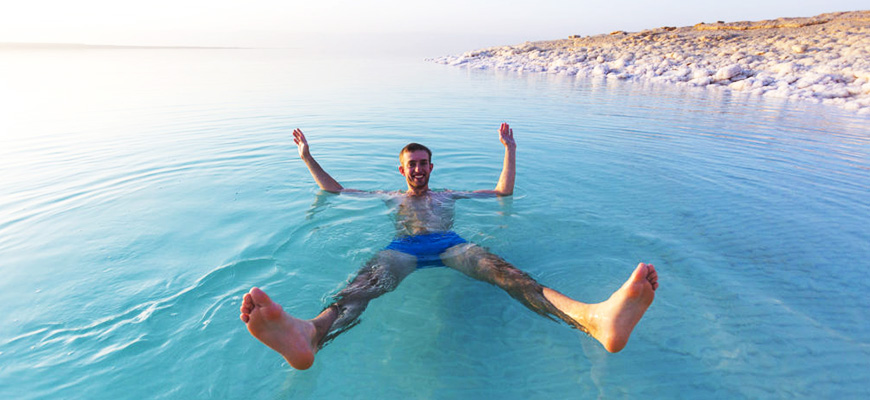 Half Day Tour in the Dead Sea of Jordan