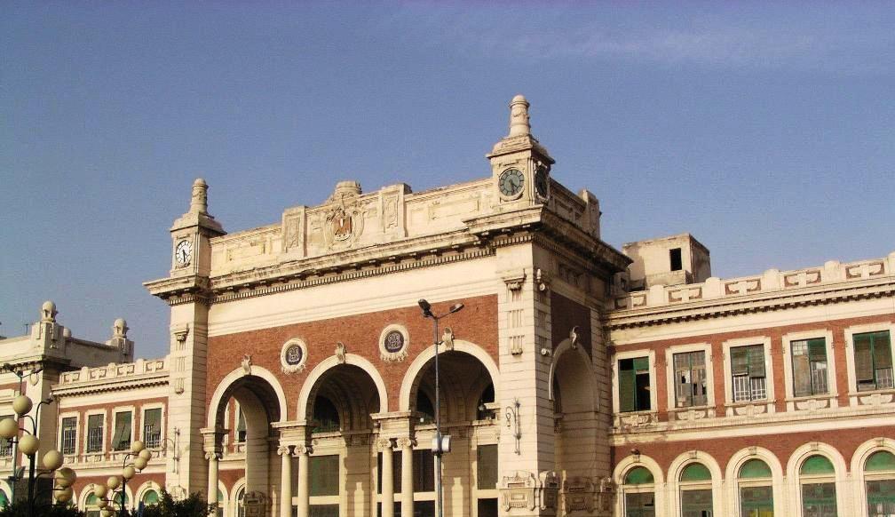 Alexandria Railway Station Private Departure
