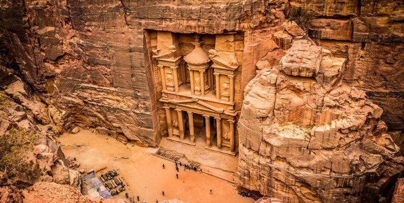 Petra Day Tour from Dahab by Airplane