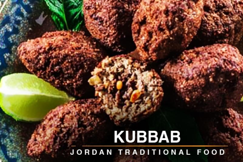 kubbab Jordan traditional food