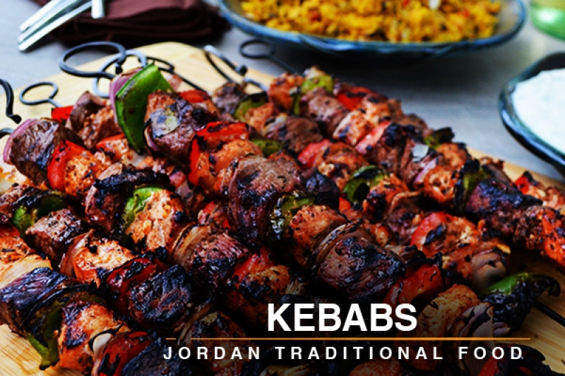 kababs jordan traditional food