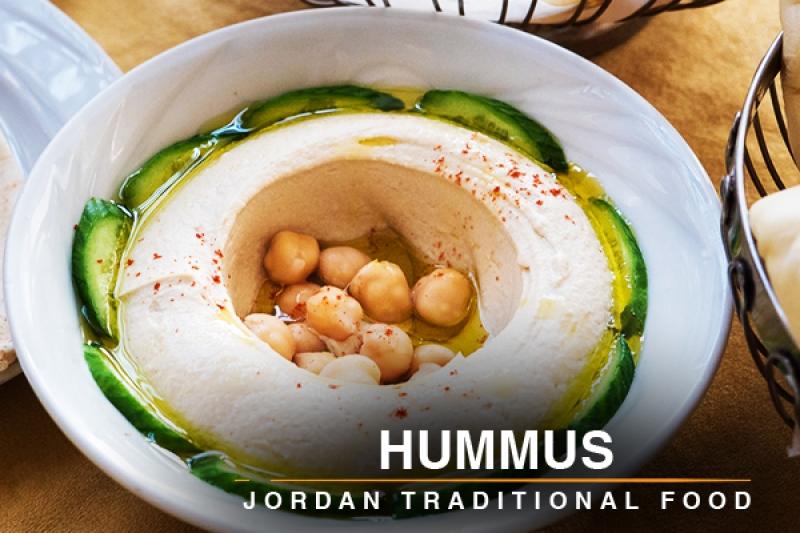 hummus Jordan traditional food
