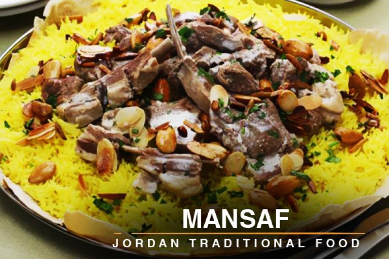 mansaf jordan traditional food