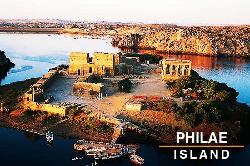 Philae island