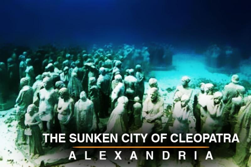 The sunken city of Cleopatra
