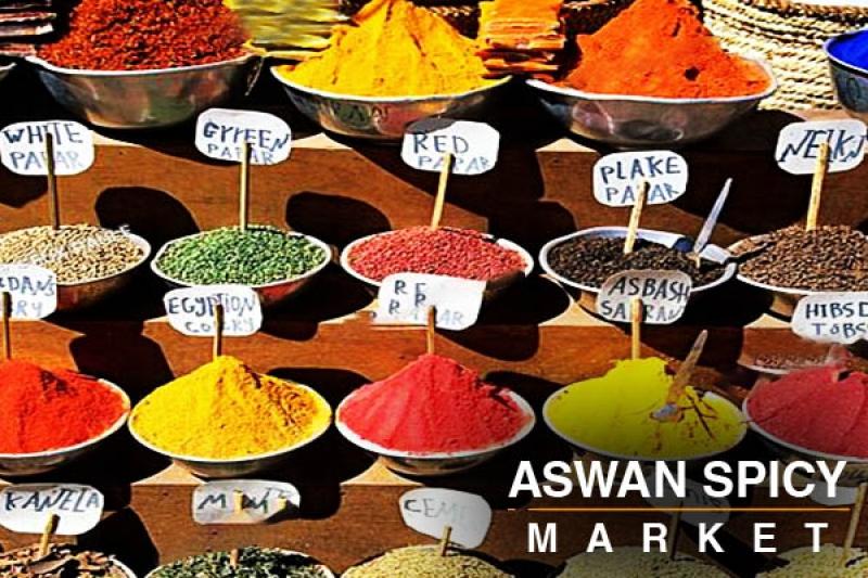 Aswan spicy market
