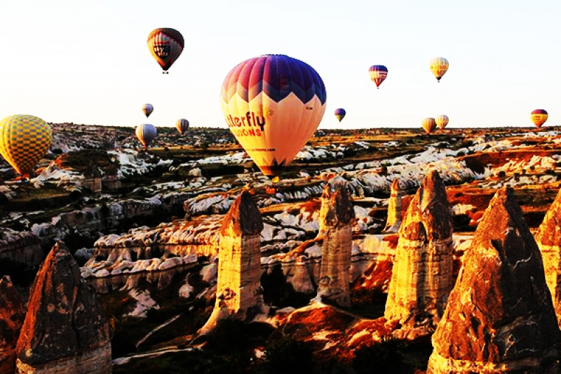 Cappadocia day tour from Istanbul by flight